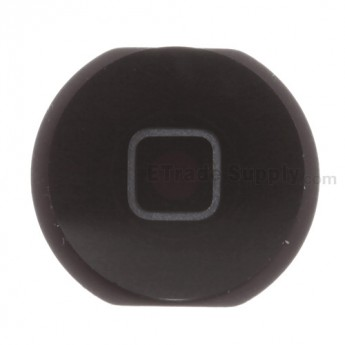 For Apple iPad Air Home Button Replacement - Black - Grade S+