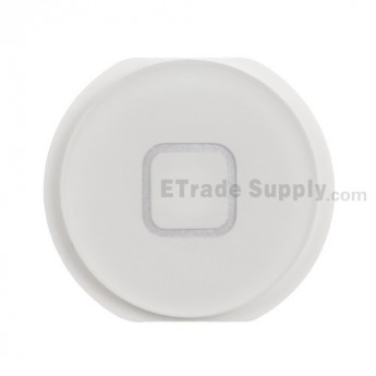 For Apple iPad Air Home Button Replacement - White - Grade S+
