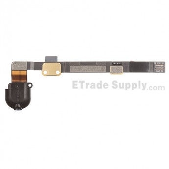 For Apple iPad Mini 2 Audio Flex Cable Ribbon Replacement - Black - Grade S+