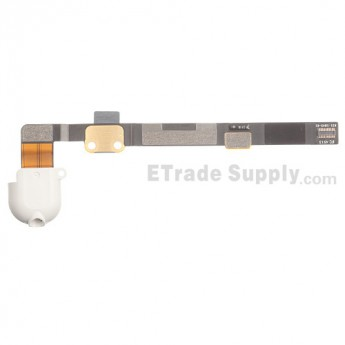 For Apple iPad Mini 2 Audio Flex Cable Ribbon Replacement - White - Grade S+