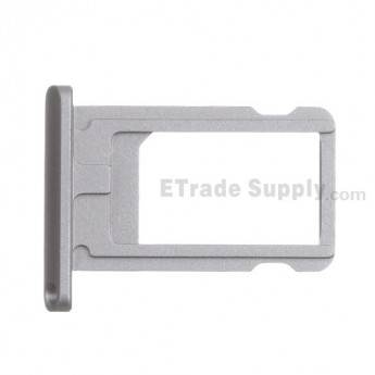 For Apple iPad Mini 2 SIM Card Tray  Replacement - Gray - Grade S+