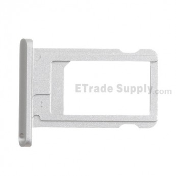 For Apple iPad Mini 2 SIM Card Tray  Replacement - Silver - Grade S+