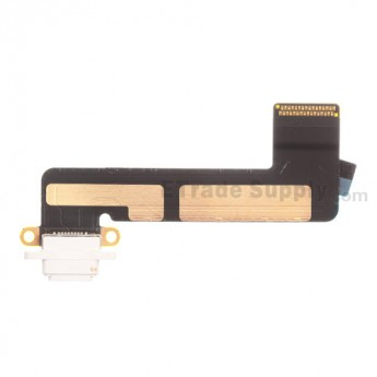 For Apple iPad Mini Charging Port Flex Cable Ribbon Replacement - White - Grade S+