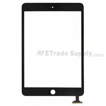 For Apple iPad Mini Digitizer Touch Screen Replacement - Black - Grade S