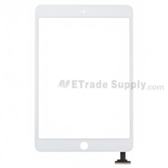 For Apple iPad Mini Digitizer Touch Screen Replacement - White - Grade S