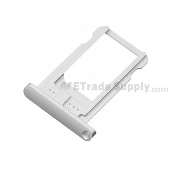 For Apple iPad Mini SIM Card Tray Replacement (Wifi+Cellular) - White - Grade S+