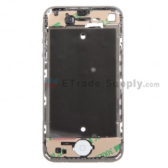 For Apple iPhone 4 Middle Plate Assembly Replacement (Verizon Wireless) - White - Grade S+
