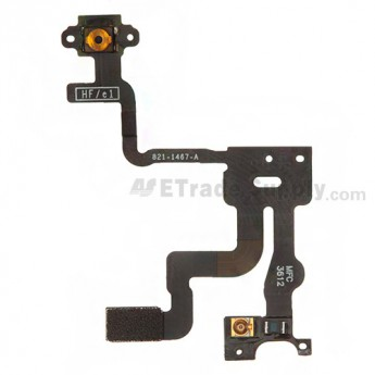 For Apple iPhone 4S Power Switch & Sensor Flex Cable Ribbon Replacement - Grade S+