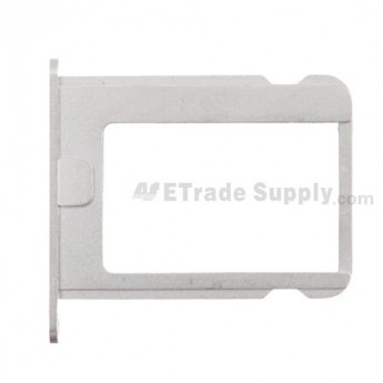 For Apple iPhone 4S SIM Card Tray Replacement - Without Words - Grade S+