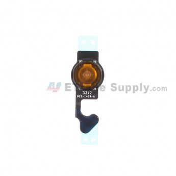 For Apple iPhone 5 Home Button Flex Cable Ribbon Replacement - Grade S+