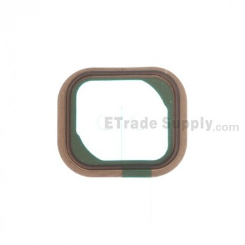 For Apple iPhone 5C Home Button Rubber Gasket Replacement - Grade S+