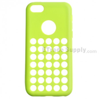 For Apple iPhone 5C Silicone Case - Green - Grade R