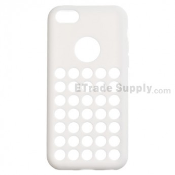 For Apple iPhone 5C Silicone Case - White - Grade R