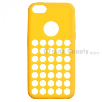 For Apple iPhone 5C Silicone Case - Yellow - Grade R