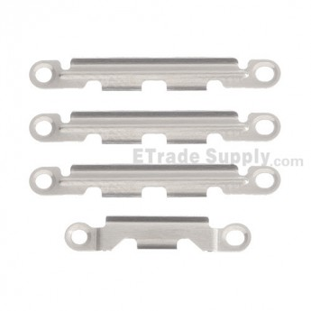 For Apple iPhone 5S/SE Rear Housing Side Retaining Bracket Replacement (4 pcs/set) - Grade S+