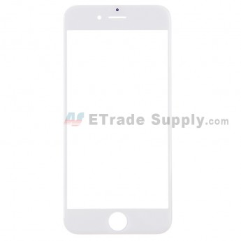 For Apple iPhone 6 Glass Lens Replacement - White - Grade S+