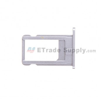 For Apple iPhone 6 SIM Card Tray  Replacement - Gray - Grade S+