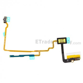 For Apple iPod Nano Gen 7 Audio Flex Cable Ribbon  Replacement - White - Grade S+