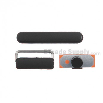 For Apple The New iPad (iPad 3) Side Key Set Replacement - Grade S+