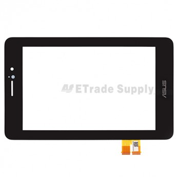 For Asus Fonepad ME371MG Digitizer Touch Screen Replacement - Black - With Logo - Grade S+