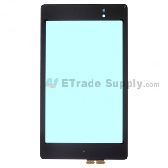 For Asus Google Nexus 7 (2013) Digitizer Touch Screen Replacement - Black - Grade A