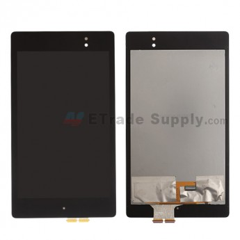 For Asus Google Nexus 7 (2013) LCD Screen and Digitizer Assembly Replacement - Black - Grade A
