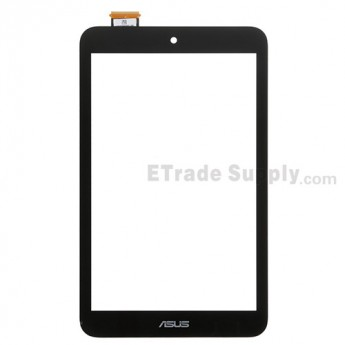 For Asus MeMO Pad 8 ME180A Digitizer Touch Screen Replacement - Black - With Logo - Grade S+