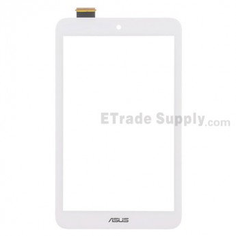 For Asus MeMO Pad 8 ME180A Digitizer Touch Screen Replacement - White - With Logo - Grade S+