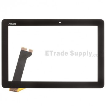 For Asus Memo Pad ME102 Digitizer Touch Screen Replacement - Black - Rev 2.0 - Grade S+