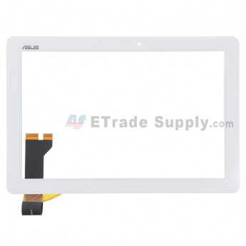 For Asus Memo Pad ME102 Digitizer Touch Screen Replacement - White - Rev 2.0 - Grade S+