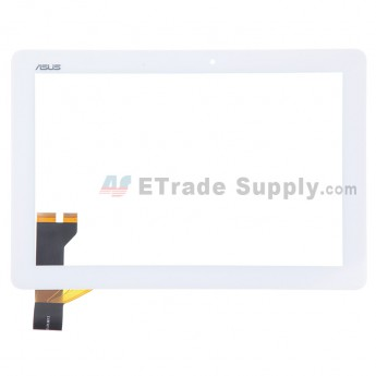 For Asus Memo Pad ME102 Digitizer Touch Screen  Replacement - White - Rev 3.0 - Grade S+