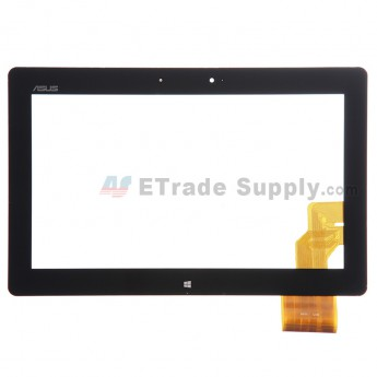 For Asus Vivo Tab RT TF600 Digitizer Touch Screen Replacement (5234) - Black - With Logo - Grade S+