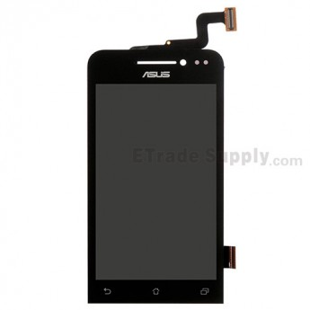 For Asus Zenfone 4 A400CG LCD Screen and Digitizer Assembly Replacement - Black - With Logo - Grade S+