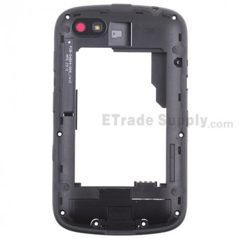 For BlackBerry 9720 Middle Plate Assembly Replacement - Gray - Grade S+