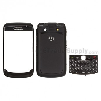 For BlackBerry Bold 9780 Complete Housing Replacement ,Black - Grade S+
