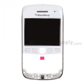 For BlackBerry Bold 9790 Digitizer Touch Panel with Front Housing and Lens Assembly Replacement ,White - Grade S+