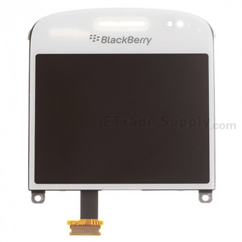 For BlackBerry Bold Touch 9900, 9930 LCD Screen and Digitizer Assembly Replacement (LCD-34042-001-111) - White - Grade S+