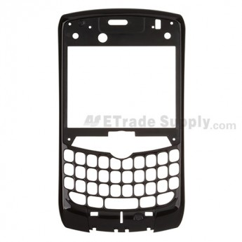 For BlackBerry Curve 8350i Front Housing Replacement ,Black - Grade S+