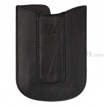 For BlackBerry Curve 8350i Leather Case - Grade S+