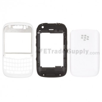 For BlackBerry Curve 9220 Housing Replacement - White - Grade S+