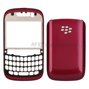 For BlackBerry Curve 9320 Front Housing and Battery Door Replacement ,Fuchsia - Grade S+