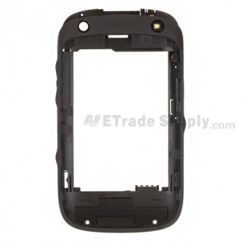 For BlackBerry Curve 9320 Rear Housing Replacement ,Black - Grade S+