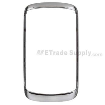 For BlackBerry Curve 9360/9350/9370 Bezel Replacement - Silver - Grade S+