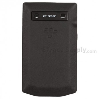 For BlackBerry Porsche Design P'9981 Housing Replacement - Black - Grade S+