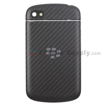 For BlackBerry Q10 Housing Replacement - Black - Grade S+