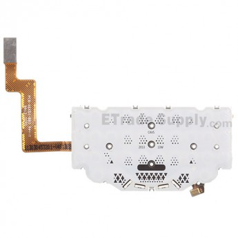 For BlackBerry Q10 Keyboard with Flex Cable Ribbon  Replacement - Grade S+