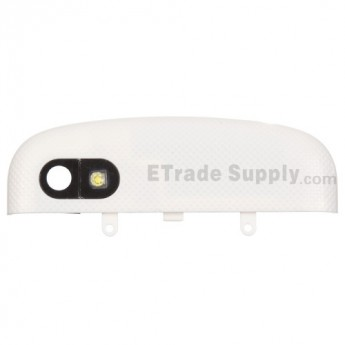 For BlackBerry Q10 Top Cover Replacement ,White - Grade S+