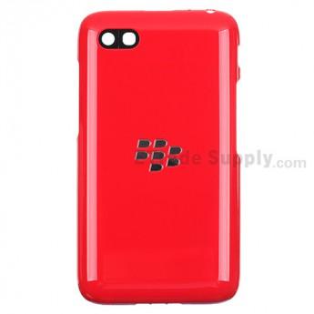For BlackBerry Q5 Battery Door Replacement - Red - Grade S+