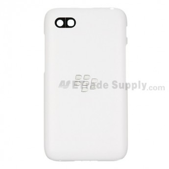 For BlackBerry Q5 Battery Door Replacement - White - Grade S+