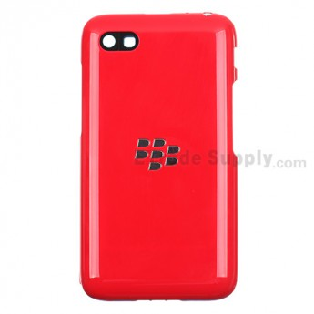 For Blackberry Q5 Rear Housing Assembly Replacement - Red - Grade S+